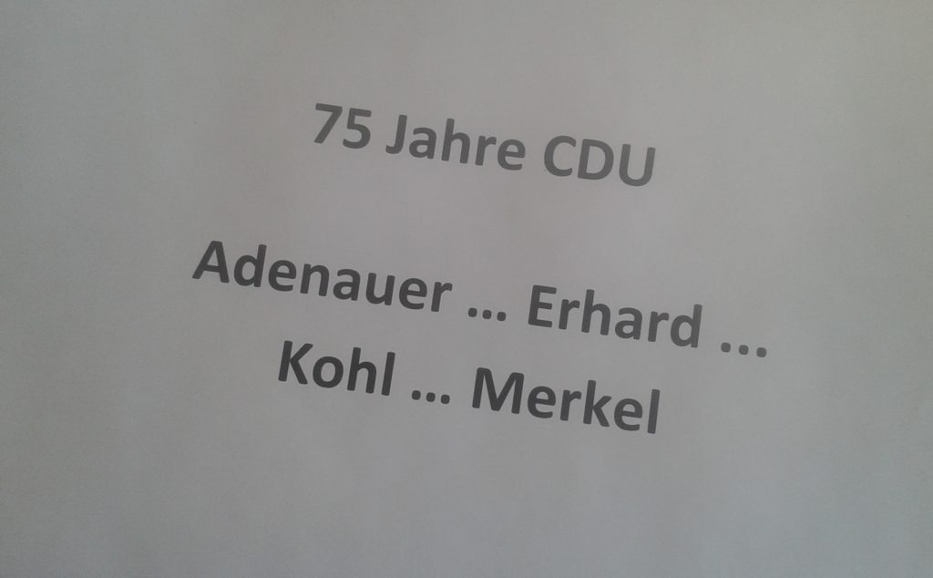 Herzlichen Glückwunsch, liebe CDU